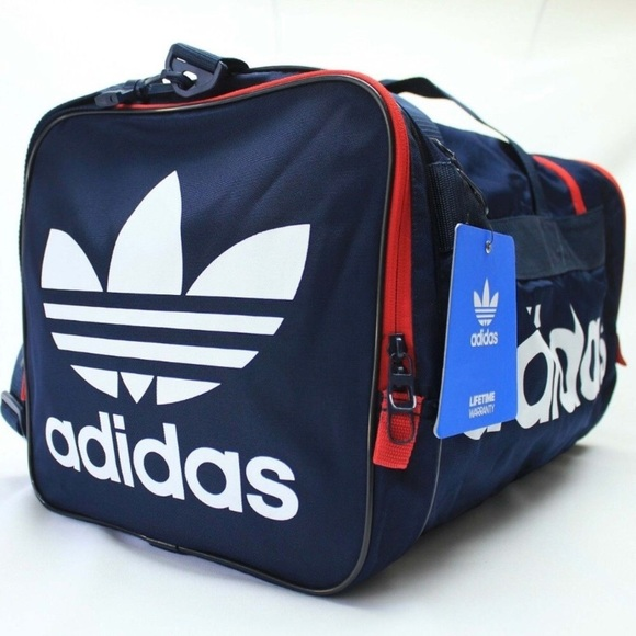 ff85980ec1 New! Adidas Originals Santiago Trefoil Duffel Bag